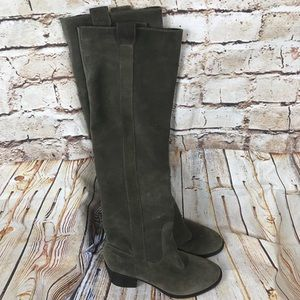 Bcbg Generation Over The Knee Suede Boots 6.5 B